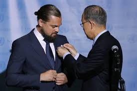 Leonardo DiCaprio Ambassador for Peace